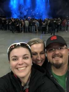 Brittany attended Disturbed: Evolution Tour on Oct 13th 2019 via VetTix