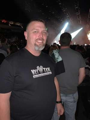 Richard attended Disturbed: Evolution Tour on Oct 13th 2019 via VetTix