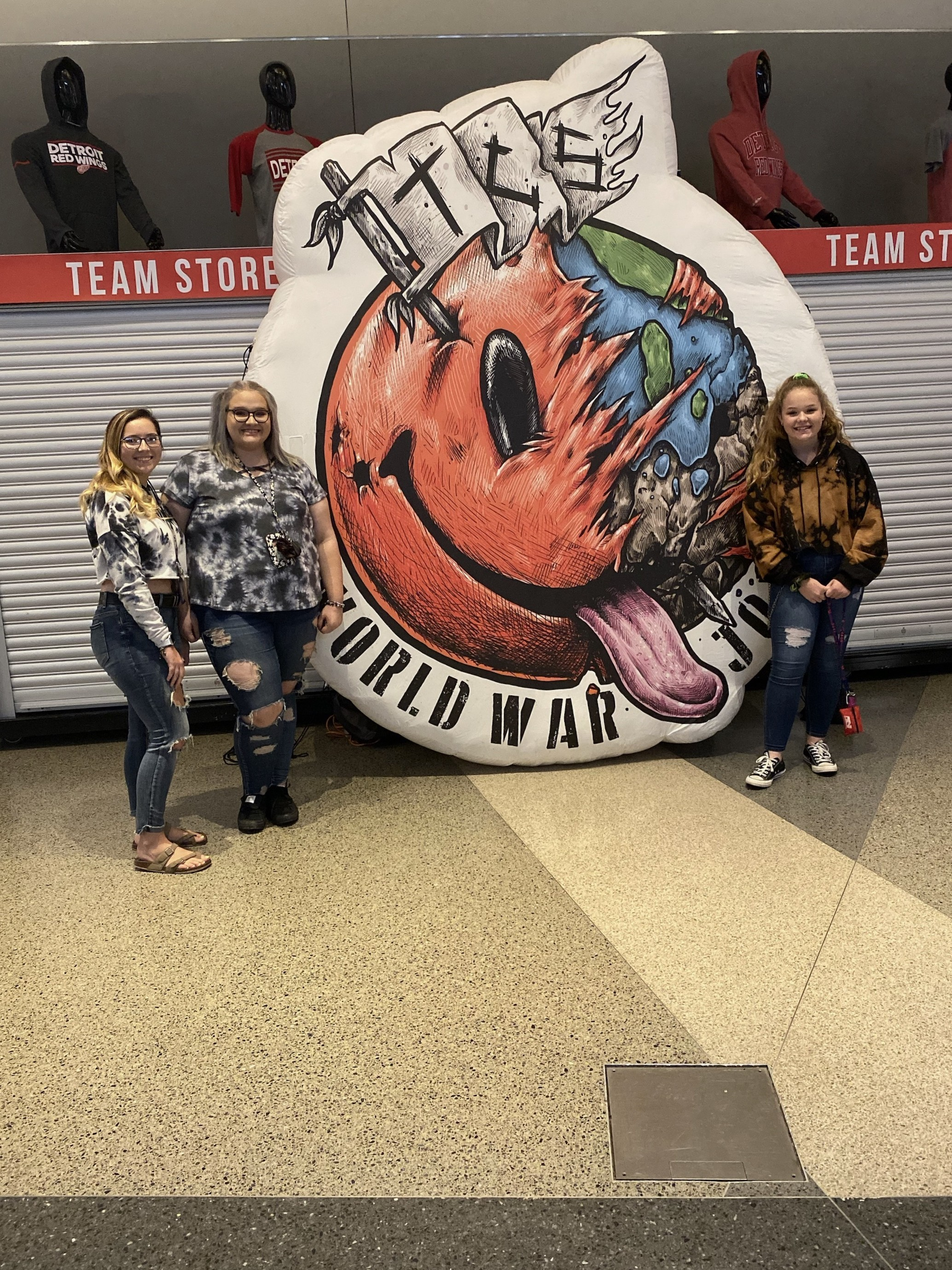 World war joy tour