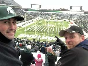 Jonathon attended Michigan State Spartans vs. Maryland - NCAA Football on Nov 30th 2019 via VetTix