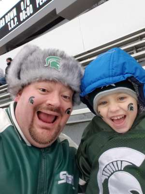 Brandon attended Michigan State Spartans vs. Maryland - NCAA Football on Nov 30th 2019 via VetTix
