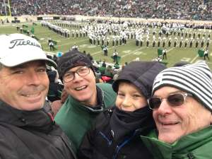 Donald attended Michigan State Spartans vs. Maryland - NCAA Football on Nov 30th 2019 via VetTix