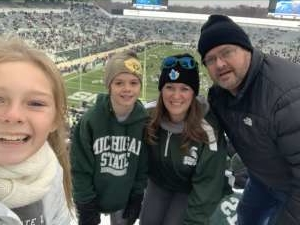 Mark attended Michigan State Spartans vs. Maryland - NCAA Football on Nov 30th 2019 via VetTix