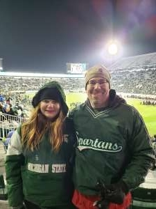 Christopher attended Michigan State Spartans vs. Maryland - NCAA Football on Nov 30th 2019 via VetTix