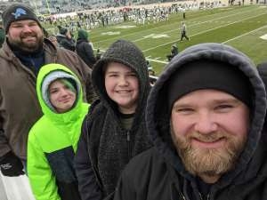 David attended Michigan State Spartans vs. Maryland - NCAA Football on Nov 30th 2019 via VetTix