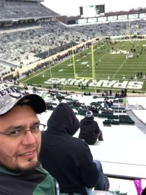 Wayne attended Michigan State Spartans vs. Maryland - NCAA Football on Nov 30th 2019 via VetTix