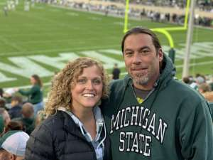 Jamie attended Michigan State Spartans vs. Maryland - NCAA Football on Nov 30th 2019 via VetTix