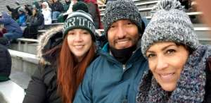 Terri attended Michigan State Spartans vs. Maryland - NCAA Football on Nov 30th 2019 via VetTix