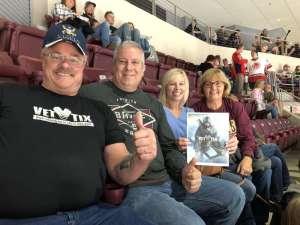 Keith attended Hershey Bears vs. Wilkes Barre Scranton Penguins on Oct 5th 2019 via VetTix
