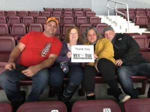 sean attended Hershey Bears vs. Wilkes Barre Scranton Penguins on Oct 5th 2019 via VetTix