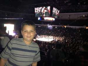 Ken attended WWE Supershow Live! on Oct 5th 2019 via VetTix