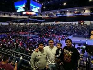Rutilo attended WWE Supershow Live! on Oct 5th 2019 via VetTix