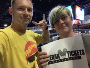 Marlin attended WWE Supershow Live! on Oct 5th 2019 via VetTix