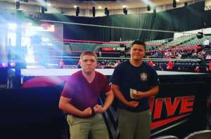 Veronica attended WWE Supershow Live! on Oct 5th 2019 via VetTix