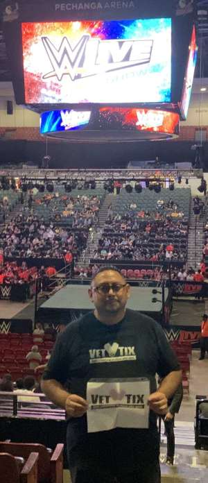 RAMON attended WWE Supershow Live! on Oct 5th 2019 via VetTix