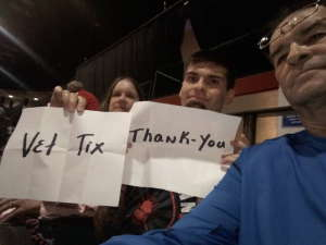 Doug attended WWE Supershow Live! on Oct 5th 2019 via VetTix