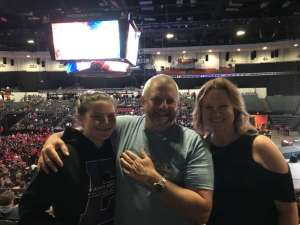 gregory attended WWE Supershow Live! on Oct 5th 2019 via VetTix