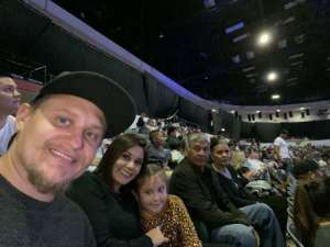 Marc attended WWE Supershow Live! on Oct 5th 2019 via VetTix