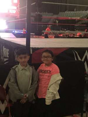Jose attended WWE Supershow Live! on Oct 5th 2019 via VetTix