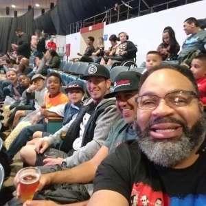 Derek attended WWE Supershow Live! on Oct 5th 2019 via VetTix