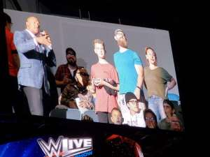 Shelly attended WWE Supershow Live! on Oct 5th 2019 via VetTix
