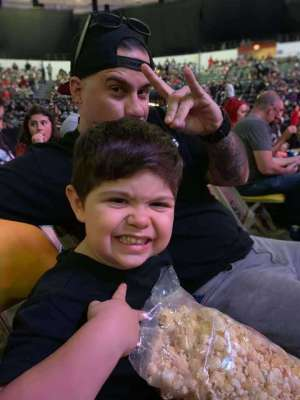 Pablo attended WWE Supershow Live! on Oct 5th 2019 via VetTix