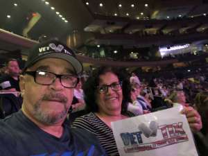David attended Carrie Underwood: the Cry Pretty Tour 360 on Oct 2nd 2019 via VetTix