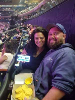 Cody attended Carrie Underwood: the Cry Pretty Tour 360 on Oct 2nd 2019 via VetTix