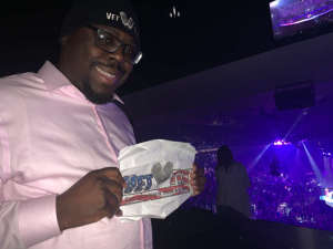 Anthony attended Carrie Underwood: the Cry Pretty Tour 360 on Oct 2nd 2019 via VetTix