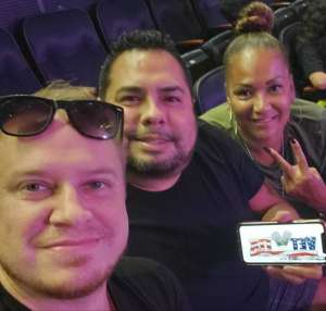 Pablo attended Carrie Underwood: the Cry Pretty Tour 360 on Oct 2nd 2019 via VetTix