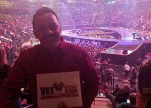 Harry attended Carrie Underwood: the Cry Pretty Tour 360 on Oct 2nd 2019 via VetTix