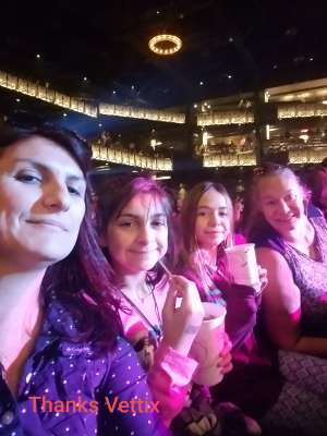 Consuelo attended Silence the Violence - Benefit Concert: Katy Perry, Norah Jones, Mavis Staples, the Celebration Gospel Choir, Jeremy Elliot on Oct 11th 2019 via VetTix