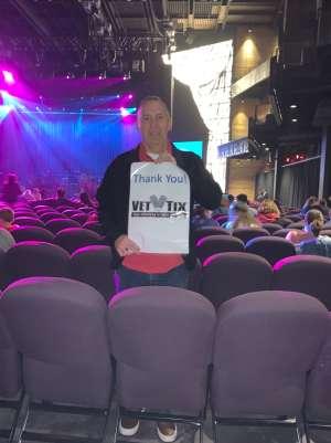 Thomas attended Silence the Violence - Benefit Concert: Katy Perry, Norah Jones, Mavis Staples, the Celebration Gospel Choir, Jeremy Elliot on Oct 11th 2019 via VetTix
