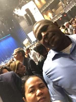 Cecilia attended Silence the Violence - Benefit Concert: Katy Perry, Norah Jones, Mavis Staples, the Celebration Gospel Choir, Jeremy Elliot on Oct 11th 2019 via VetTix
