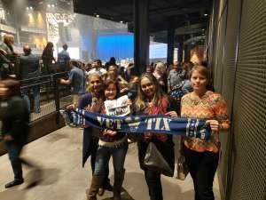 Sounida attended Silence the Violence - Benefit Concert: Katy Perry, Norah Jones, Mavis Staples, the Celebration Gospel Choir, Jeremy Elliot on Oct 11th 2019 via VetTix