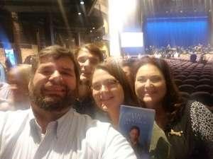 Scott attended Silence the Violence - Benefit Concert: Katy Perry, Norah Jones, Mavis Staples, the Celebration Gospel Choir, Jeremy Elliot on Oct 11th 2019 via VetTix