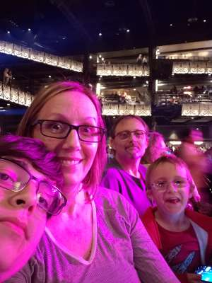 Bernadette attended Silence the Violence - Benefit Concert: Katy Perry, Norah Jones, Mavis Staples, the Celebration Gospel Choir, Jeremy Elliot on Oct 11th 2019 via VetTix