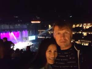Yuriy attended Silence the Violence - Benefit Concert: Katy Perry, Norah Jones, Mavis Staples, the Celebration Gospel Choir, Jeremy Elliot on Oct 11th 2019 via VetTix