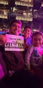 Francisco attended Silence the Violence - Benefit Concert: Katy Perry, Norah Jones, Mavis Staples, the Celebration Gospel Choir, Jeremy Elliot on Oct 11th 2019 via VetTix