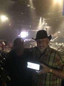Wilbur attended Clint Black on Oct 12th 2019 via VetTix