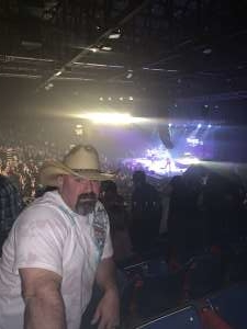 Anthony attended Clint Black on Oct 12th 2019 via VetTix