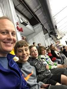 Richard attended Lone Star Brahmas vs Amarillo Bulls - NAHL on Oct 19th 2019 via VetTix