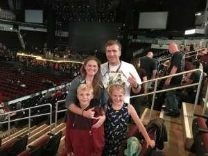 Michael attended Guns N' Roses - not in This Lifetime Tour on Oct 7th 2019 via VetTix