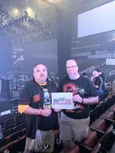 Matthew attended Guns N' Roses - not in This Lifetime Tour on Oct 7th 2019 via VetTix