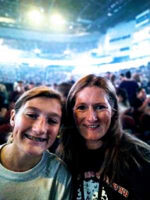 James attended Guns N' Roses - not in This Lifetime Tour on Oct 7th 2019 via VetTix