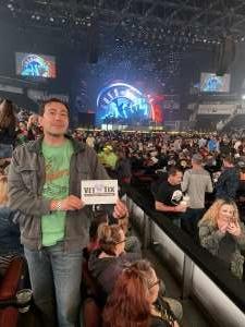 Eric attended Guns N' Roses - not in This Lifetime Tour on Oct 7th 2019 via VetTix