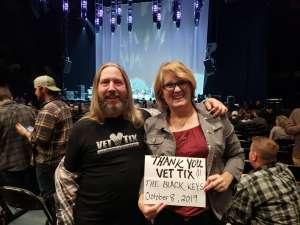 Kim attended The Black Keys - Let's Rock Tour on Oct 8th 2019 via VetTix