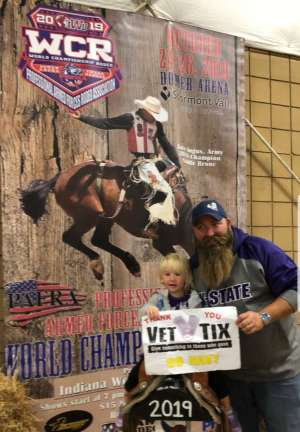 Click To Read More Feedback from Professional Armed Forces Rodeo Association - Oct. 25th and 26th Only