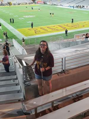 Jeffrey attended Arizona State University Sun Devils vs. WSU - NCAA Football on Oct 12th 2019 via VetTix
