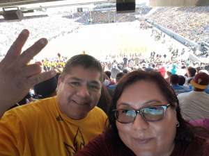 Anthony attended Arizona State University Sun Devils vs. WSU - NCAA Football on Oct 12th 2019 via VetTix